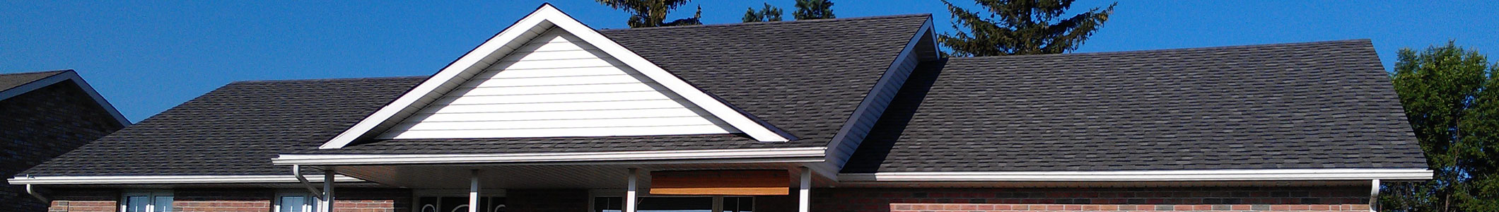 residential roofing header